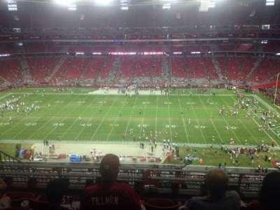 University of Phoenix Stadium section 411