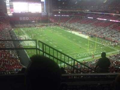 University of Phoenix Stadium, section: 432, row: 2, seat: 9