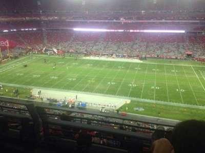 University of Phoenix Stadium, section: 440, row: 2, seat: 7