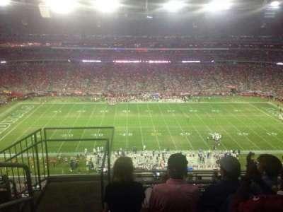 University of Phoenix Stadium, section: 444, row: 4, seat: 18