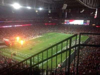University of Phoenix Stadium, section: 454, row: 1, seat: 1