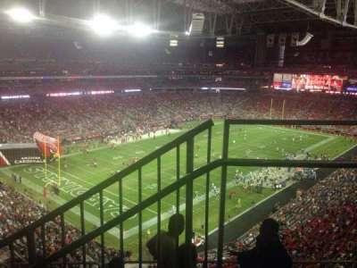 University of Phoenix Stadium, section: 453, row: 1, seat: 1