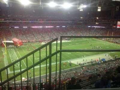 University of Phoenix Stadium, section: 449, row: 1, seat: 13