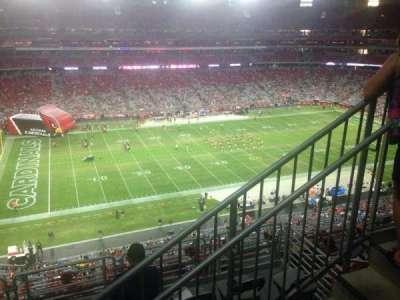 University of Phoenix Stadium, section: 448, row: 1, seat: 1