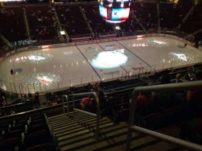 Gila River Arena, section: 218, row: H, seat: 1