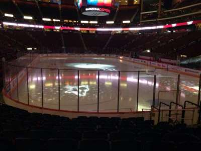 Gila River Arena, section: 107, row: L, seat: 13