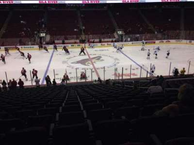 Gila River Arena, section: 112, row: L, seat: 9