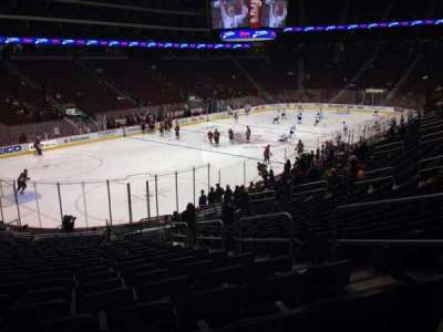 Gila River Arena, section: 115, row: T, seat: 5