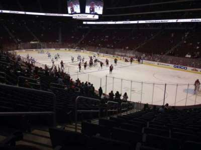 Gila River Arena, section: 119, row: T, seat: 22