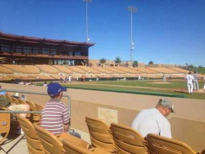 Camelback Ranch, section: 6, row: 6, seat: 6