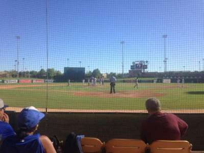 Camelback Ranch, section: 16, row: 4, seat: 3