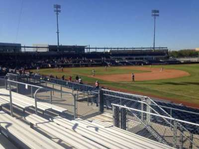 Peoria Sports Complex, section: 220, row: GG, seat: 9