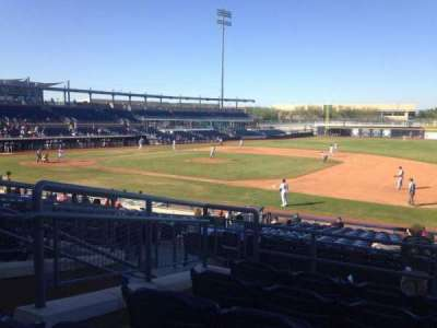 Peoria Sports Complex, section: 214, row: FF, seat: 5