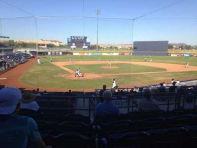 Peoria Sports Complex, section: 204, row: FF, seat: 8