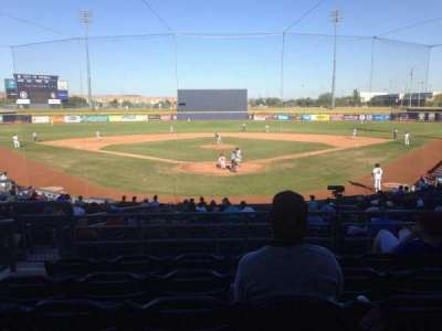 Peoria Sports Complex, section: 200, row: FF, seat: 9