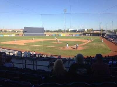Peoria Sports Complex, section: 203, row: FF, seat: 7