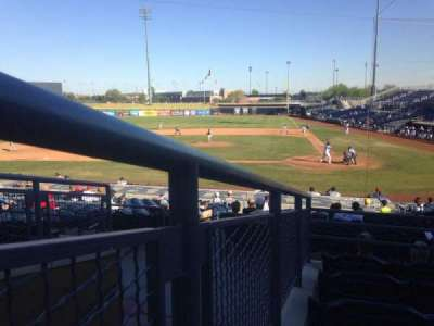 Peoria Sports Complex, section: 205, row: FF, seat: 5