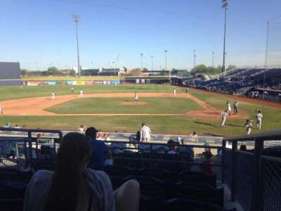 Peoria Sports Complex, section: 207, row: FF, seat: 12