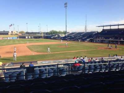 Peoria Sports Complex, section: 211, row: FF, seat: 13