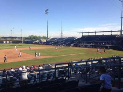 Peoria Sports Complex, section: 213, row: FF, seat: 6