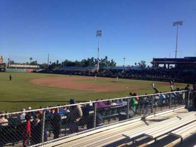 Scottsdale Stadium, section: F, row: 6, seat: 6