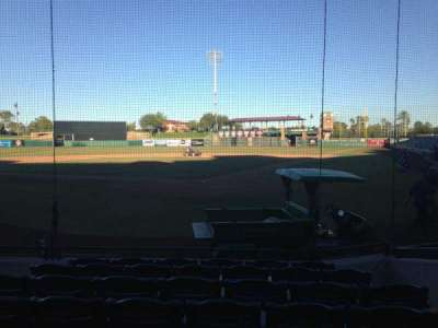 Scottsdale Stadium, section: 103, row: WC, seat: 3
