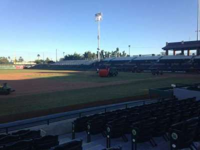 Scottsdale Stadium, section: 119, row: WC, seat: 3