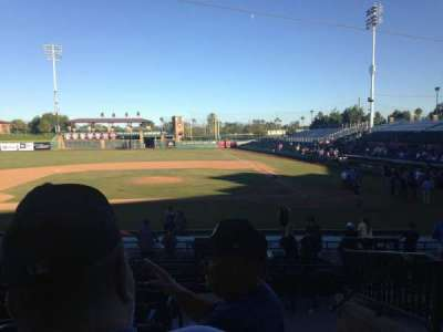 Scottsdale Stadium, section: 309, row: 1, seat: 1