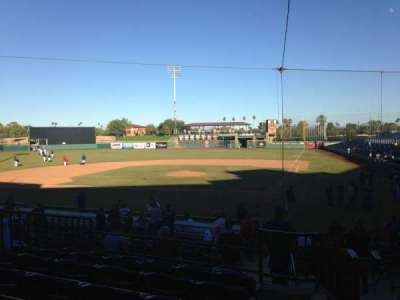 Scottsdale Stadium, section: 205, row: M, seat: 1