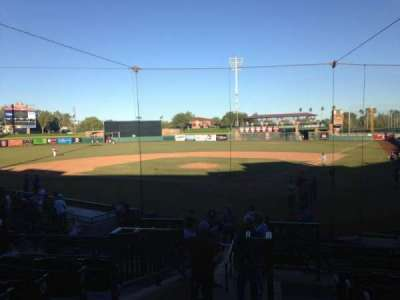 Scottsdale Stadium, section: 303, row: 1, seat: 13