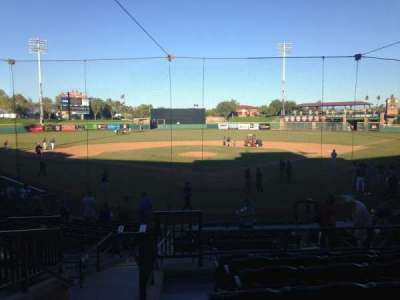 Scottsdale Stadium, section: 201, row: O, seat: 13