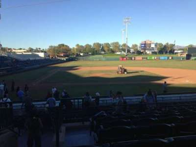 Scottsdale Stadium, section: 310, row: 1, seat: 1