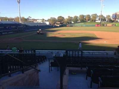 Scottsdale Stadium, section: 212, row: M, seat: 1