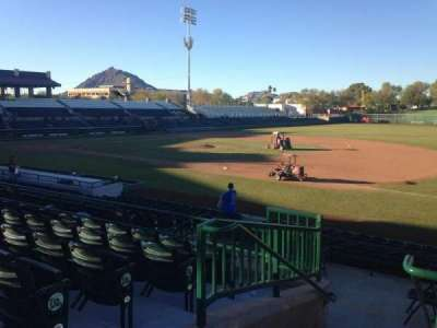 Scottsdale Stadium, section: 216, row: M, seat: 1
