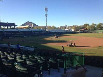 Scottsdale Stadium, section: 316, row: 1, seat: 1