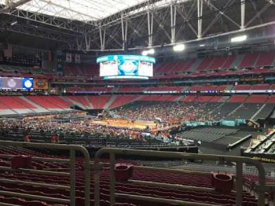 University of Phoenix Stadium, section: 103, row: WC, seat: 16