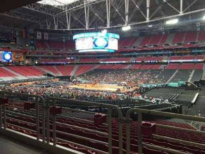 University of Phoenix Stadium, section: 104, row: WC, seat: 3