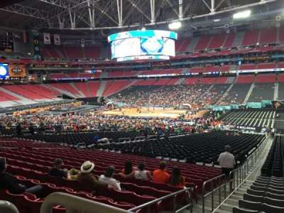 University of Phoenix Stadium, section: 104, row: WC, seat: 18