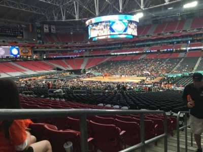 University of Phoenix Stadium, section: 104, row: 35, seat: 24