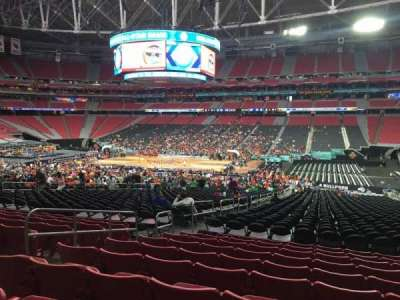 University Of Phoenix Stadium, section: 105, row: 35, seat: 13