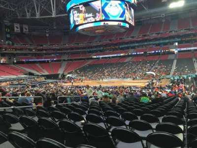 University of Phoenix Stadium, section: 106, row: RR, seat: 8
