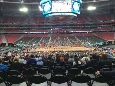University Of Phoenix Stadium, section: 109, row: WW, seat: 5