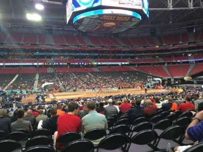 University of Phoenix Stadium, section: 110, row: VV, seat: 13