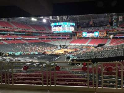 University of Phoenix Stadium, section: 137, row: WC, seat: 4