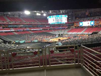 University of Phoenix Stadium, section: 136, row: WC, seat: 16