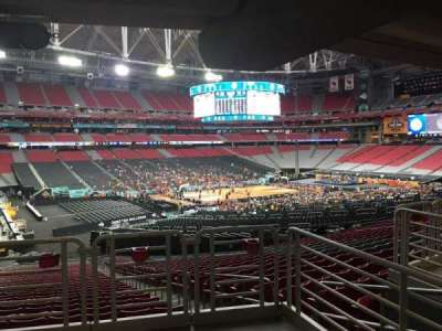 University of Phoenix Stadium, section: 135, row: WC, seat: 2
