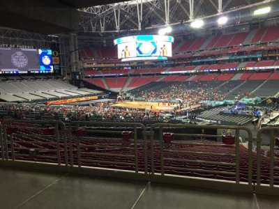 University of Phoenix Stadium, section: 125, row: WC, seat: 6