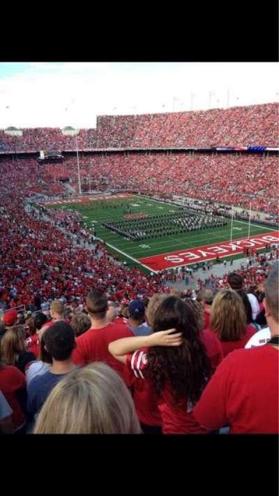 Ohio Stadium, section: 31b, row: 15, seat: 17