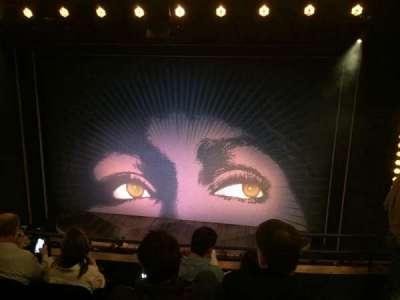 Lunt-Fontanne Theatre, section: Mezzanine C, row: D, seat: 114