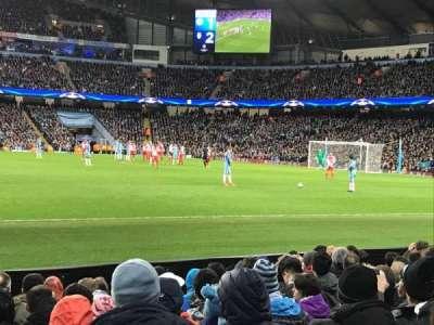 Etihad Stadium (Manchester), section: 105, row: H, seat: 97